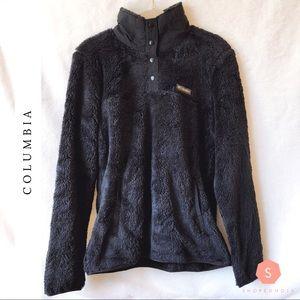 Columbia Black Fleece Pullover Sweatshirt